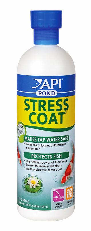 Pond Care Stress Coat 16 fl. oz treats 1920 gallons Remov...