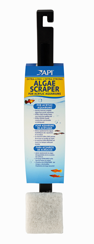"""Applied Auto Algae Scraper with 18"""" Long Handle for Acryl..."""