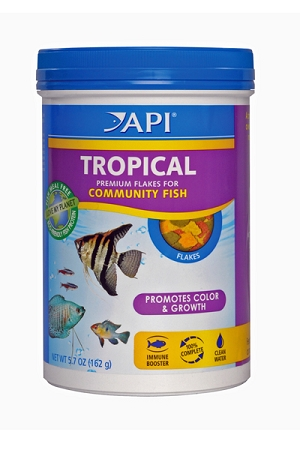 Applied Auto Tropical Fish Flake Food 5.7 oz canister