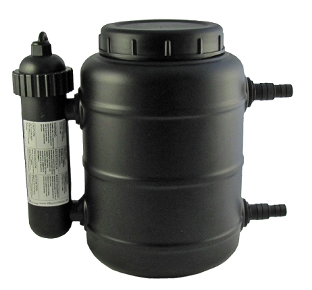 Pressurized Pond Filter With UV for up to 1250 gal Pond &...