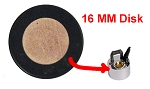 Fog generator replacement disk 16mm D (5/8