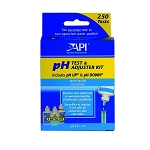 API Freshwater pH Test and Adjuster Kit 250 tests easily correct pH problems on the spot