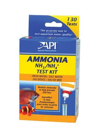 Applied Auto Ammonia Test Kit Liquid Salt/Freshwater (130...