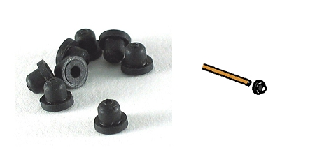 Rena Rubber bearings for 20/15/40 series pumps