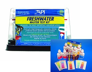 API Freshwater Aquarium Master Test Kit 5 tests complete w/directions
