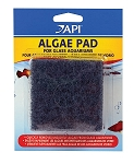 Hand Held Algae Scraper Pad for Glass/Hard Plastic Surfaces 3x3in 2 pack