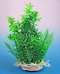 Anacharis Faux Aquarium Plant 6 in w/weighted decorative base