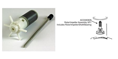 Applied Auto Rena API Filstar XP/1 (S) Rotor, shaft, bear...