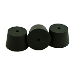Arteich #6 Rubber Stopper w/hole 1-1/4