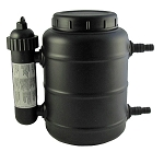Pressurized Pond Filter With UV for up to 1250 gal Pond & Water Features