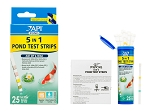Pond Care 5in1 test strips for for Ponds No2,No3,KH,GH,pH 25 tests