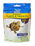 API Aquatic Turtle Treats 2oz with shrimp see your turtle feed