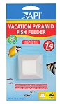 API Vacation Fish Feeder lasts up to 14 days 5-10 Fish Salt/Fresh/Goldfish