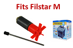 API Filstar M (Rena XP2) rotor, shaft, bearing assembly (721Q)