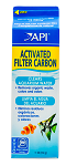 API Activated Carbon 1qt vol/11oz wt removes color, odor & organic waste
