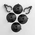 API Rena Nexx Replacement Suction Cups (4)/Clips (2)