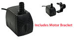 Rena API Nexx Filter Replacement Motor with bracket For API & Rena Nexx Filter