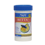 API BETTA Flake Food .36 oz canister complete & balanced diet for Bettas