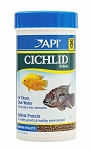 API Cichlid Pellets Small Floating 4.2oz complete and balanced diet w/shrimp & fish protein (COPY)