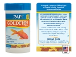API Premium Goldfish Fish Flake Food 1.1 oz canister for shubunkins, lionheads, fantails