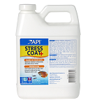Stress Coat 32oz Jug treats 1893 gal, removes Chlorine, protects Fish, conditons water