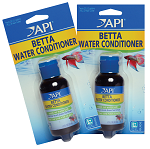 API Betta Water Conditioner 1.7oz x2 treats 40gal w/Aloe Vera & Green Tea Extract