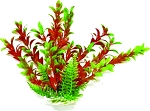 Rotala Faux Aquarium Plant 9in Green/Red Small Size use in foreground or grouping