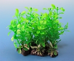 Faux Bushy Aquarium 5pk Plants 5in Similar to Elodea and others Easy Install