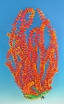 Cabomba 16 in Tall Faux Aquarium Plant Red/Orange Recommended Background Plant