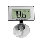 Aquarium Thermometer Digital Submersible with Large Display