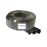 Black Vinyl Tubing 1/2 x 5/8, 20 ft roll Use for Ponds, Ftns, Aquariums retards algae
