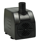 Rena OEM Fountain/Utility Water Pump 120gph/37 in lift, 6' 2-wire cord UL indoor use