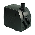 Fountain Pump 180gph/5.3 ft lift, 6ft cord, UL, Built-In Flow Control, 3-yr warranty