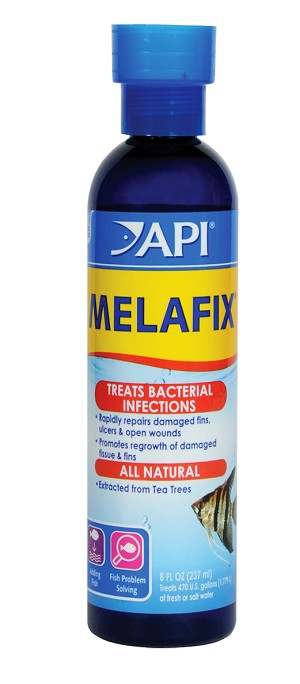 Melafix 8oz Treats 470 gal Natural Infection Treatment Freshwater/Saltwater Fish