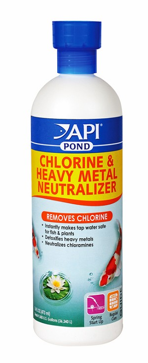 Chlorine & Heavy Metal Rem 16oz Treats 960 gal Removes Chlorine Makes Water Safe