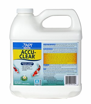 PondCare Accu-Clear Pond Water Clarifier 64oz Treats 18,900 gal Clears Water Fast
