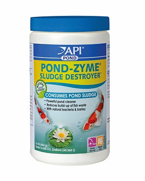 PondZyme Plus Barley Benefical Pond Bacteria 1lb jar treats 16,000 gallons