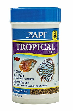 Sinking Pellet Food for Angelfish, Tetras,Barbs & Discus