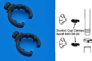 Filstar Accessory Clips/Brackets (2pk) Fits API/Rena Filstar Filters All Versions