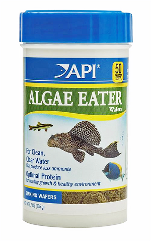 API Sinking Algae Eater Wafers 3.7oz for Plecos, Ancistrus, Otocinclus & others
