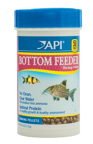 Shrimp pellets for bottom feeders