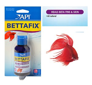 API BETTAFIX Betta Fish Infection & Fungus Remedy 1.7oz Bottle