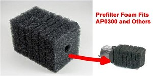 Filter Foam for AP0300 Water Pump Kit (1ea) also fits other similar water pumps