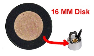 Fogger Disk 16mm for small foggers