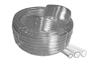 Vinyl tubing for fountains, aquariums, other