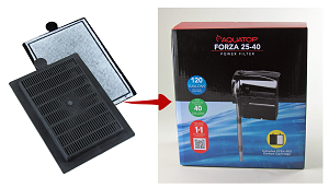 Fits Forza Power Filter 25-40gal RO3733