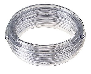 "Vinyl Airline Tubing Approx 3/16""id x 100 ft Roll Fits standard small air pump outlets"