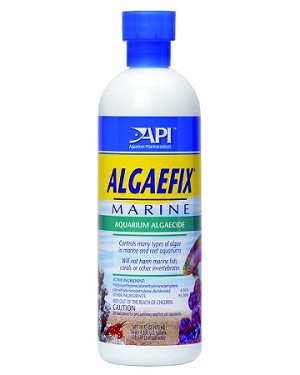 API Algaefix Marine/Reef Safe Formula 16oz, treats 4,800 gals, EPA Registered