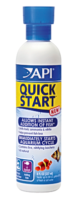 API Quick-Start Add Your Fish Today 8oz treats 230 gal