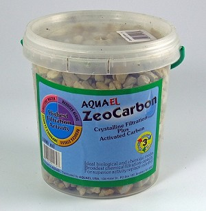 "ZeoCarb 1000 ml (25oz) Zeolite/Carbon Mix 1/8""-1/2"" chips Fine"